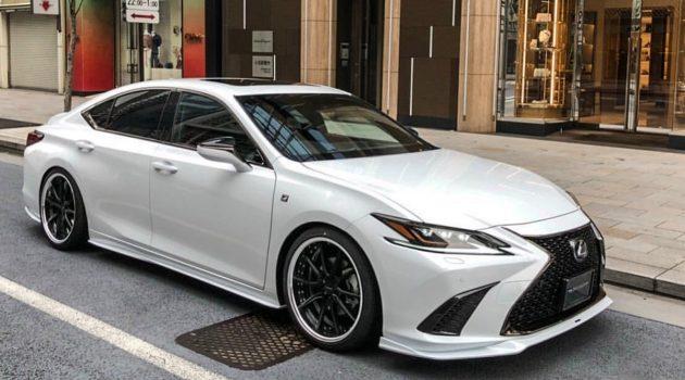 帅气老板车, Lexus ES Artisan Spirits 空力套件登场