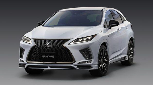 全新改款 Lexus RX 发表,TRD 空力套件一并登场