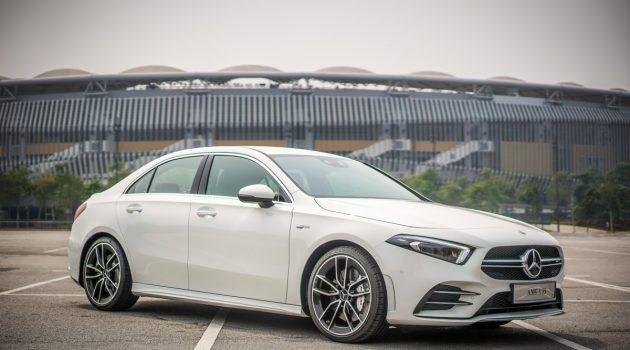 Mercedes-AMG A35 Sedan 帅气登场,售价 RM 348,888