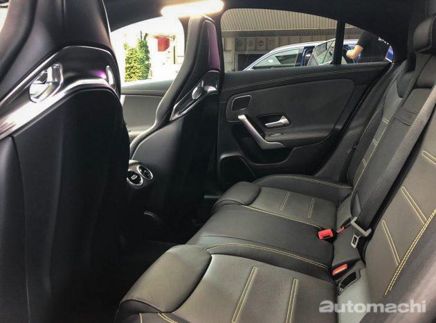 IAA 2019 : Mercedes-AMG CLA 45 S 实车鉴赏