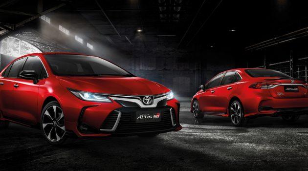 泰规 Toyota Corolla Altis GR Sport 版本动感亮相