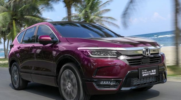 Honda Breeze 中国开放预订,预售价 RM 106,327