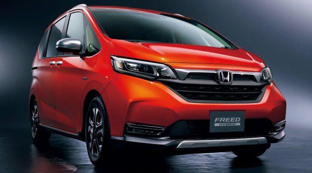 2020 Honda Freed 或将在东京车展上正式亮相