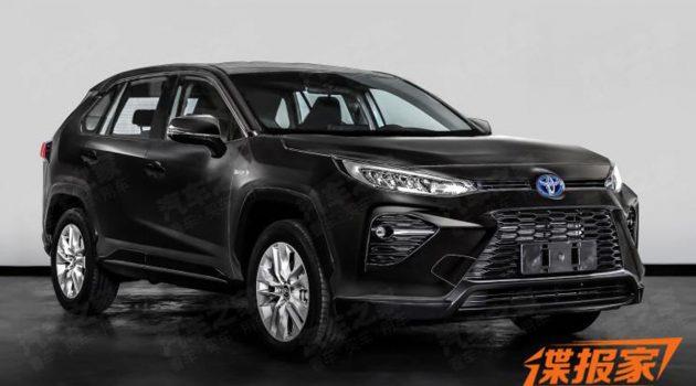 Toyota Wildlander SUV 正式现身,全新的SUV车型登场