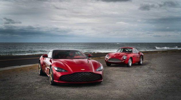 760 Hp 限量超跑, Aston Martin DBS GT Zagato 霸气登场