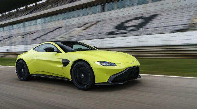 Aston Martin Vantage 敞篷款即将亮相,3.5秒可破百
