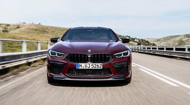 BMW M8 Gran Coupe 四门轿跑强势亮相,或将明年正式发布