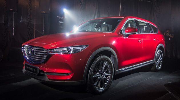 Mazda CX-8 正式公开接受预订,备有4种车型选择