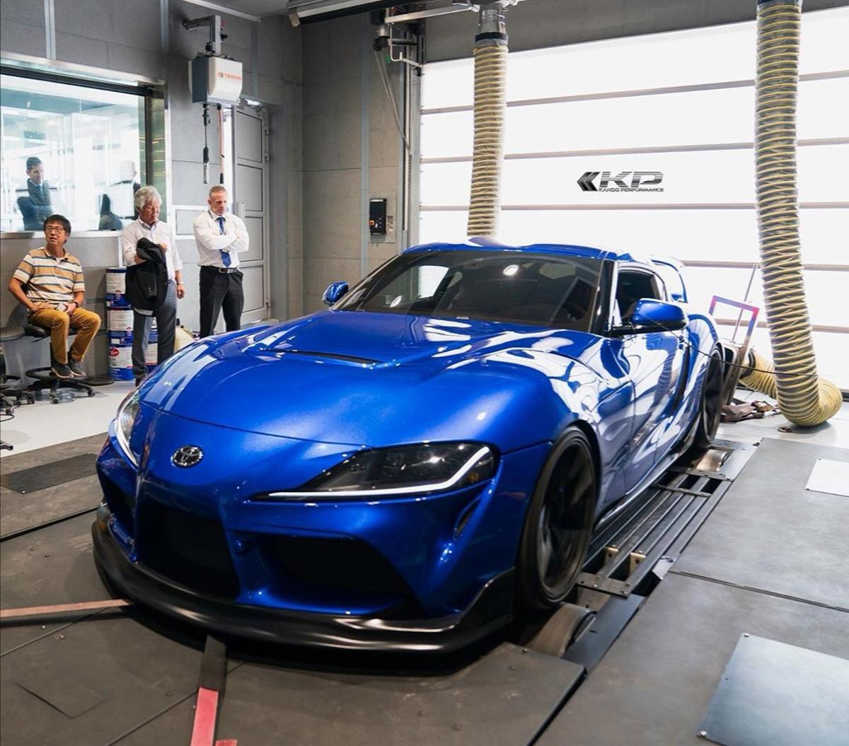 Toyota Supra A90 Ekanoo Racing Body Kit 炫酷登场,向前辈致敬