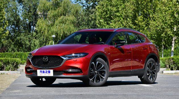 小改款 Mazda CX-4 亮相,导入新一代魂动设计语言
