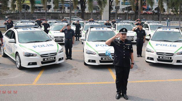 看看 Polis Di Raja Malaysia 都用什么车来当警车吧