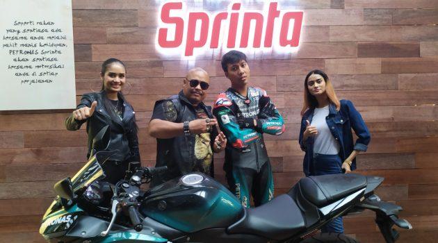 Petronas Sprinta 摩托车引擎油正式预览,富含 UltraFlex 技术