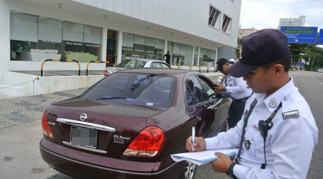 拖欠116张 Saman ,新加坡车主刷卡还清 RM 28,000