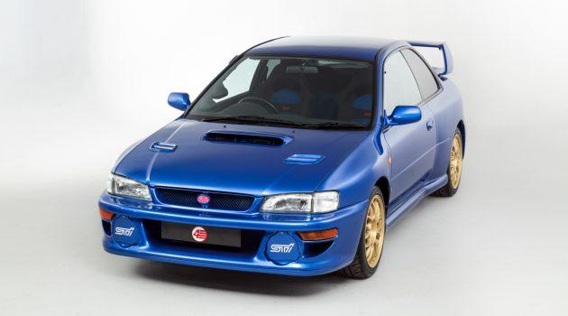 限量版 Subaru Impreza 22B STi 寻找新主人,售价 RM 535,552