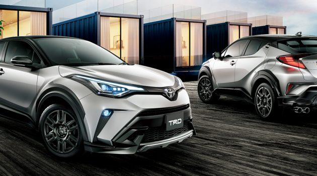 小改款 Toyota C-HR TRD 与 Modellista 套件登场