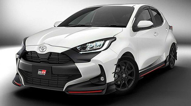 全新 Toyota Yaris TRD 以及 Modellista 空力套件出炉