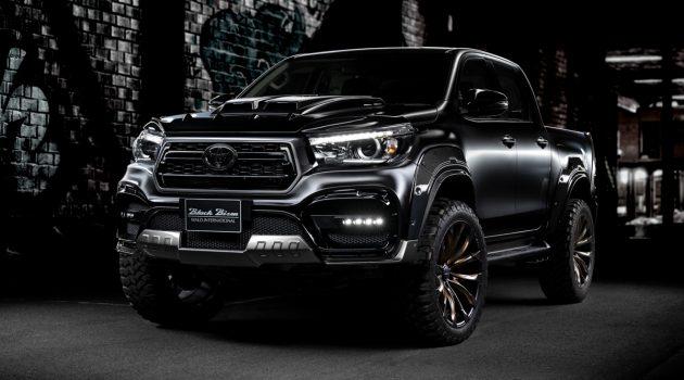 Toyota Hilux Sport Line Black Bison Edition 强势登场