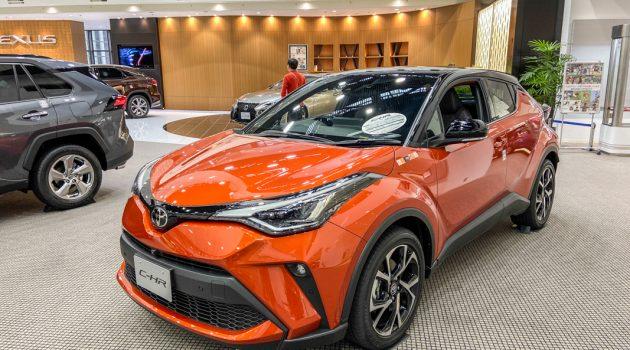 2020 Toyota C-HR GT 实拍,6速手排的Crossover