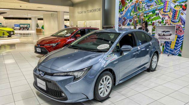 Toyota Corolla Sedan 日规版实拍,外观更为运动化