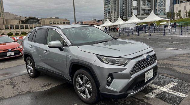 东京车展 2019: Toyota Rav4 Hybrid 实车照