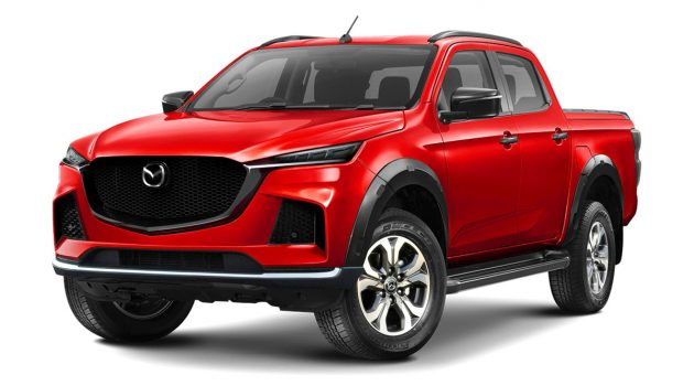基于 2020 D-Max 打造,新一代 Mazda BT-50 假想出炉