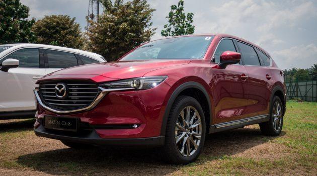 图库 : 2019 Mazda CX-8 ,各车型实车内装比较
