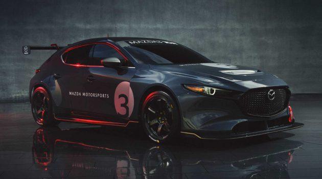350 Hp 2.0L 涡轮引擎入列, Mazda3 TCR 猛爆登场