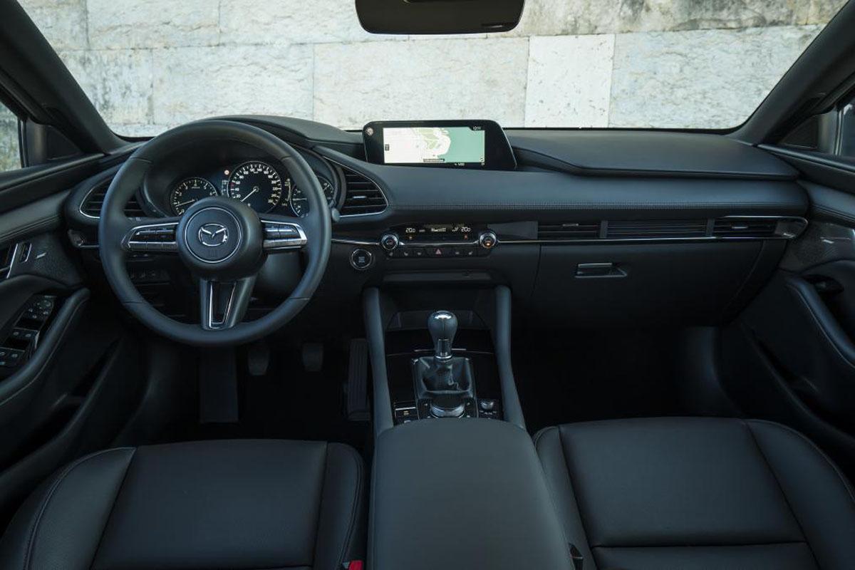 Mazda3 Liftback Skyactiv-X 实测油耗为3.7L/100 KM
