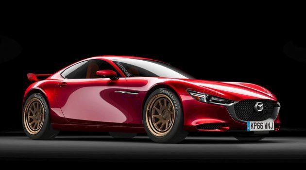 Mazda RX-9 疑似测试车再现身,传奇或将复活