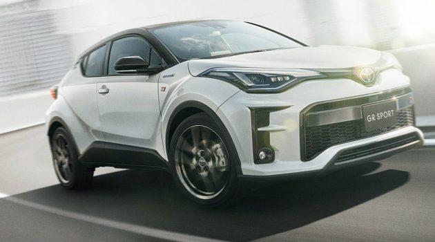 备有6速手排, Toyota C-HR GR Sport 动感登场