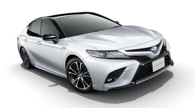 日规 Toyota Camry 推出升级版,新增 E-Four 电子四驱系统