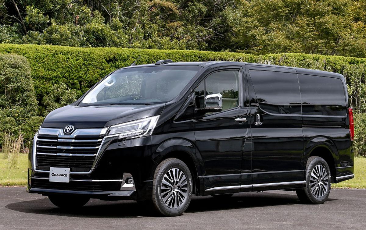日规版豪华 MPV , Toyota GranAce 正式发布