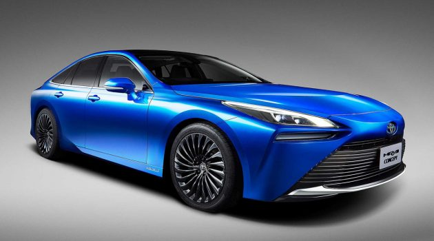 化身后驱房车,新一代 2021 Toyota Mirai 惊艳登场