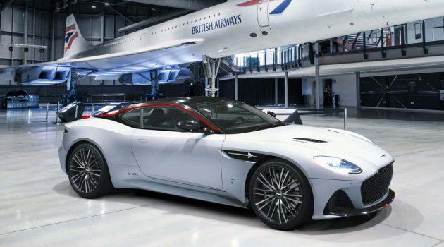 Aston Martin DBS Superleggera Concorde 强势登场