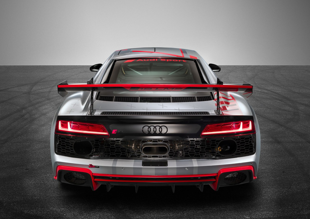 Audi R8 LMS GT4 强势登场,488Hp/550Nm