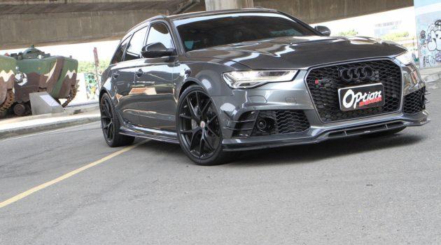 最速旅跑 Audi RS6 900Hp,100KM/H-200KM/H 只需7秒