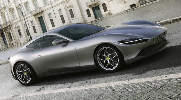 Ferrari Roma 强势登场,612 Hp/720 Nm,最高时速320 KM/H