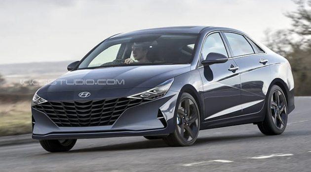 Hyundai Elantra Sport 假想图出炉,颜值爆表