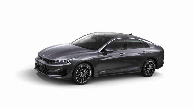 新一代 Kia Optima K5 官方照终于释出,预计将在下个月于韩国正式发表