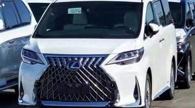 Lexus LM 豪华旗舰 MPV 价格曝光,国外售价 RM 1,288,433