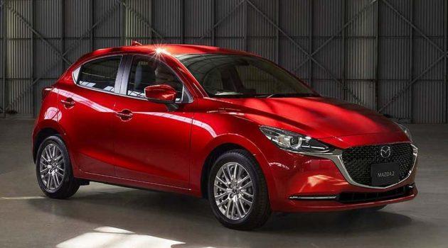 小改款 Mazda 2 登陆泰国,当地售价 RM 75,000 起跳