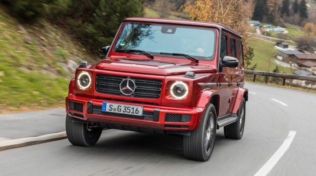 Mercedes-Benz G Class 未来将会拥有 EV 车型