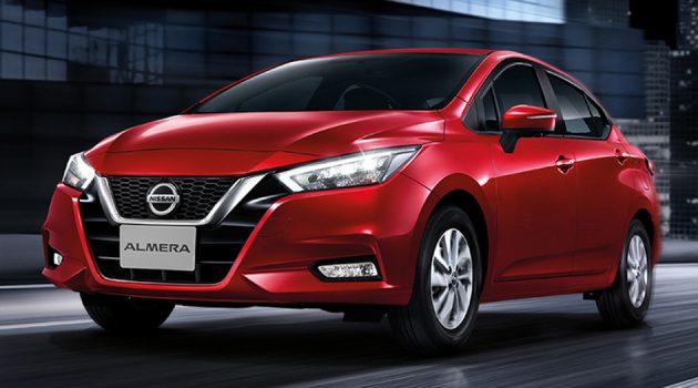 Nissan Almera 泰国发表,当地售价 RM 68,587 起跳