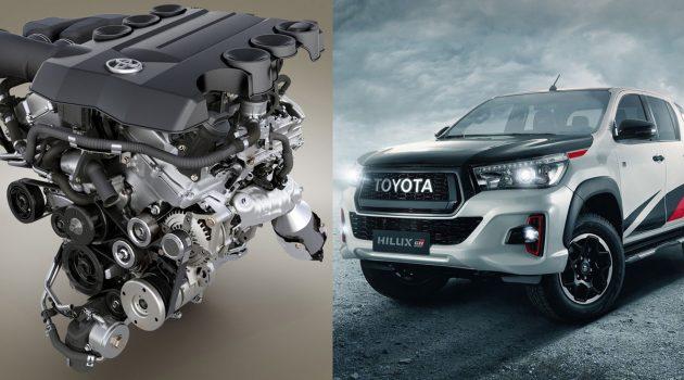 Toyota Hilux V6 GR 即将登场,最大马力表现238 PS