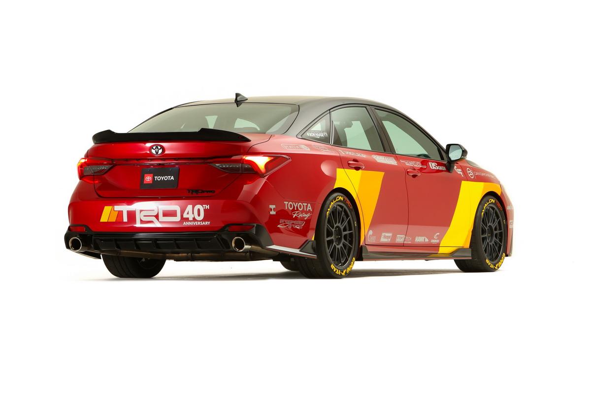 Toyota Avalon TRD Pro 概念轿跑亮相,比Porshce 911/Audi R8还快