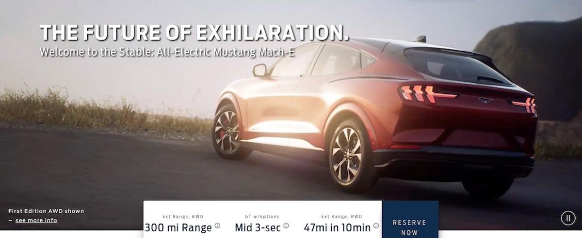 Mustang SUV 长这样, Ford Mach-E 实车规格提前曝光