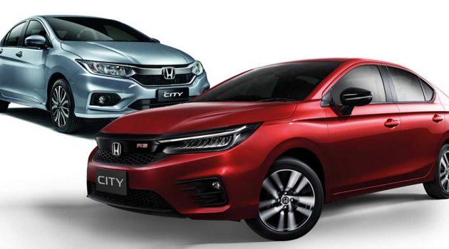 新旧两代 Honda City 规格配置大对比