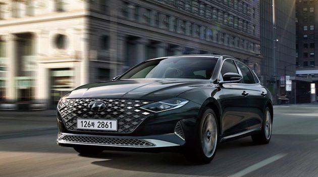 小改款 Hyundai Granduer 正式发布,韩国已开发预订