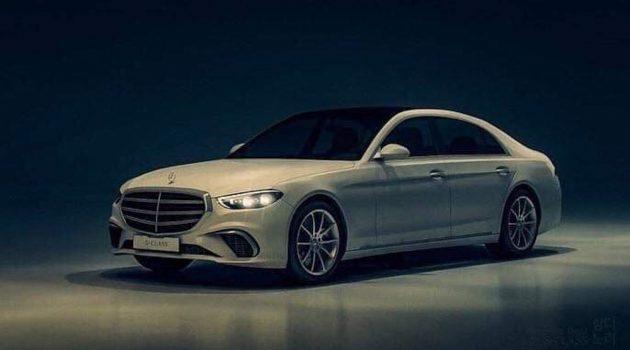 Mercedes-Benz S Class 疑似实车图曝光,预计明年发表