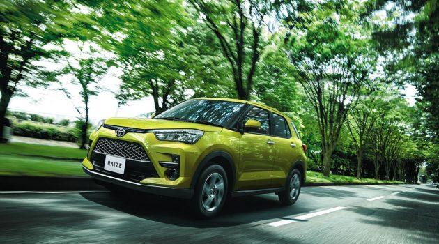 Toyota Raize 正式发表,日本售价 RM 64,061 起跳
